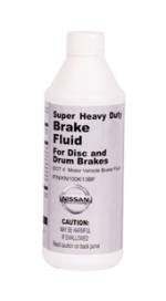 Nissan motors brakes fluids